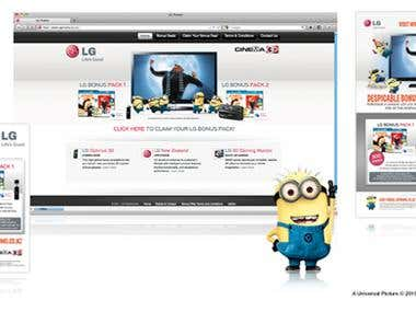 WEBSITE - LG Promo