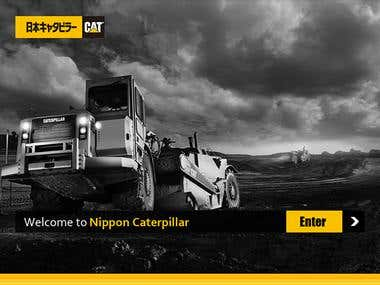 Nippon Mobile app UI