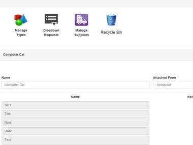 Inventory Management Single Page App with AngularJS