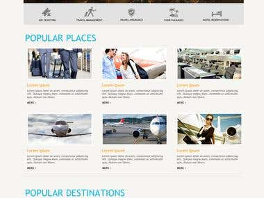 Airlines website