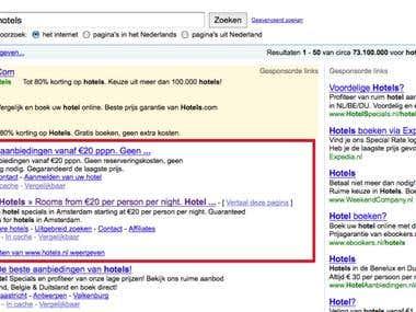 1st in Google.NL