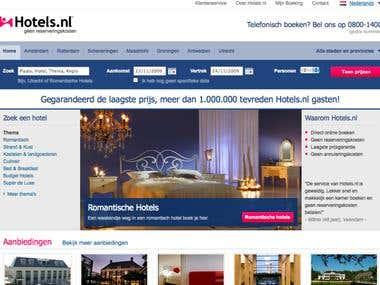 Hotels.nl Homepage