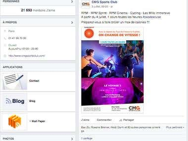 Facebook Club med Gym (CMG) - French Tourism & Leisure