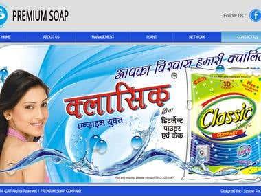 Soap Manufacturer\'s Website