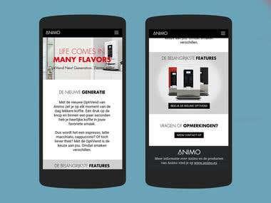 OptiVend Mobile Site