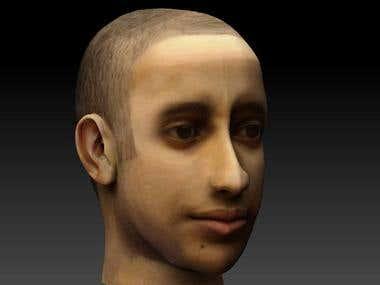 My face (Autodesk maya)