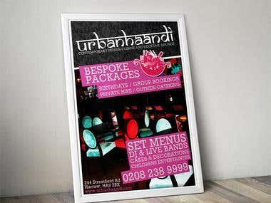 Urban Haandi Poster Design