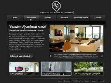 Room & Apartment Rental Website