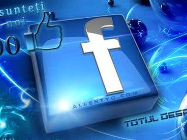 Banner and flyer for fb movie web page