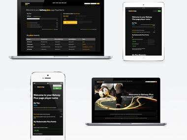 Betway Plus – User Experience