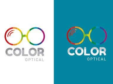 Design Logo Color Optical