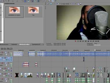 Edicion de video de Rap