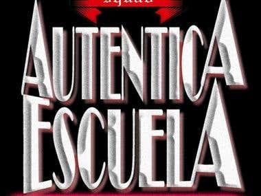 """Logo revolucionario \""""Autentica Escuela\"""""""