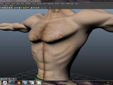Character Texturing