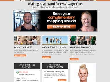 Fitness Site