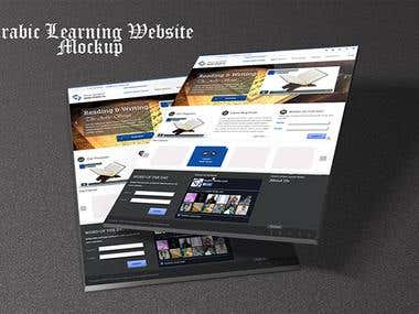 Arabic Learning Website