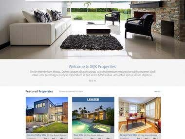 Build a Website for a Residential Property Management Bus.