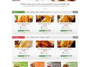 Design a Website Mockup of a Shopping Cart