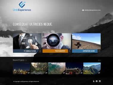 Design a Website for Unik Experience.