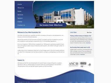 Wordpress Theme Design for Cass Allen Associates Ltd