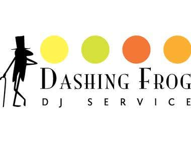 Logo: Dashing Frog...
