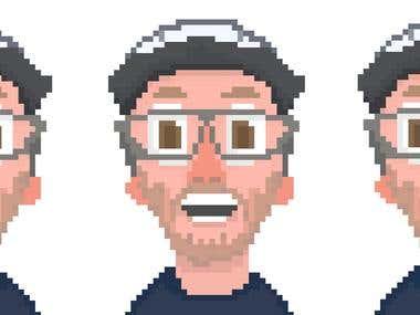 Pixel Art Lip Sync