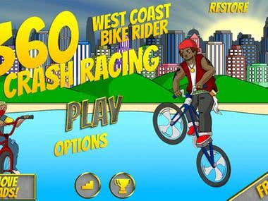 West Coast Bike Rider Free - Action HD Sport Motorbike Racin