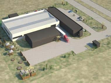3D Warehouse design