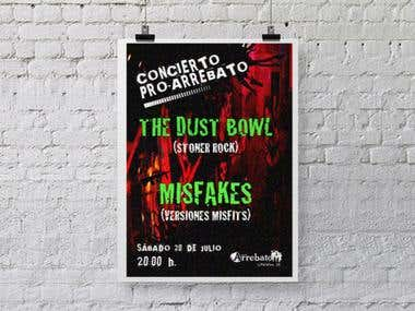 Cartel Concierto / MUSIC CONCERT ADVERT