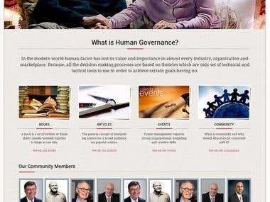 Human Governance (HG)