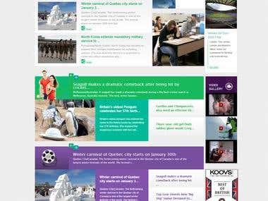 Latest international news portal