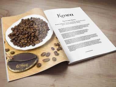Teksty promujące palarnię kawy