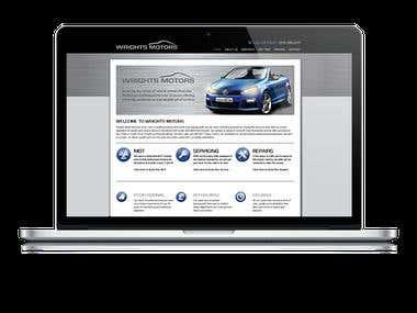 Vehicle Services- WordPress