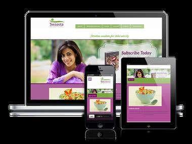Health - Coachin,cooking,Therapy WordPress