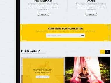 Maddy Creation website template