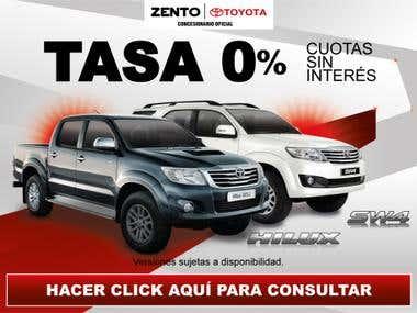 Toyota Zento Community Manager Designs