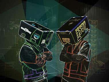 Daft Punk Kiwi