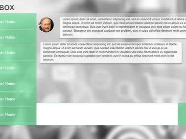 Web Chat Design