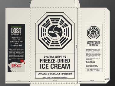 Dharma Promo - IceCream package