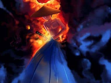 Sword of Fireheart Cover art