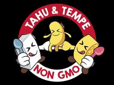 Illustration of Tahu Tempe