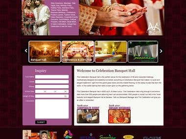 Website Design & Development - Celebrations