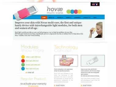 Website Design & Development - Novae