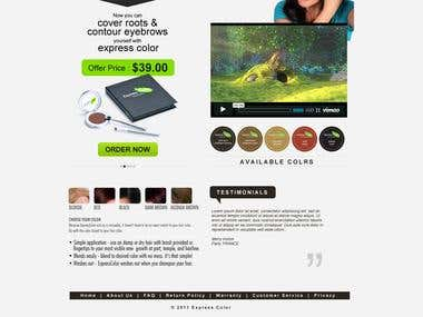 Website Design & Development- Express Color