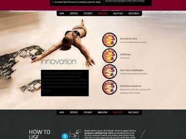 Website Design & Development - Punch Cream