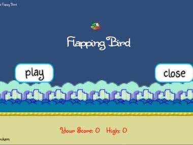 Flapping Bird flappy game