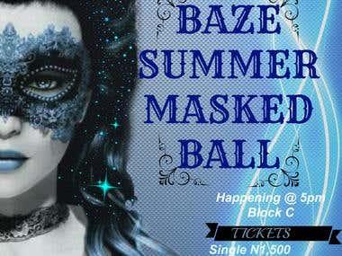 Baze Summer Masked Ball