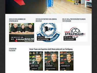 Strafraum Online Sport Clothing Shop