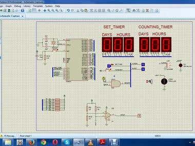 Refrigerator Alaram Clock Design + PCB