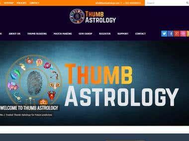 Thumb astrology